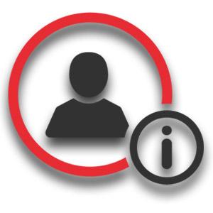 Registracija domene - osebni podatki